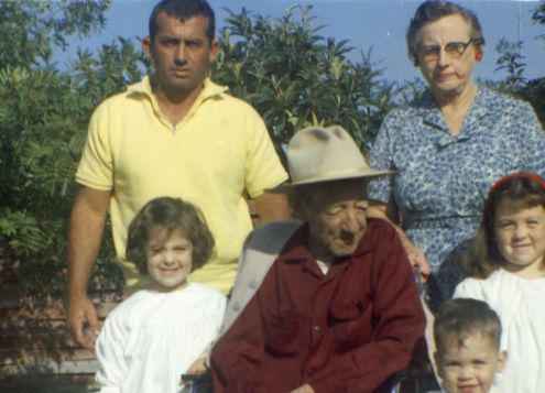 Four generations of our family: 1961