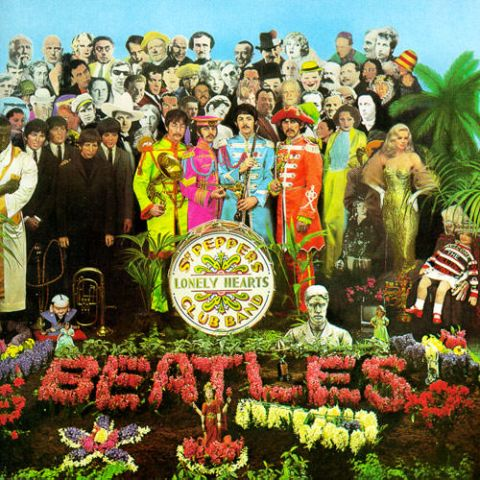 Beatles' Sgt. Pepper's album cover