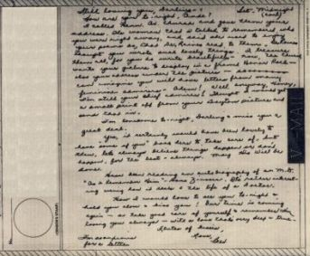 Bev to Ande: V-Mail of 27 March 1943 (part 2)