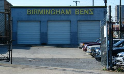 Backward Birmingham Benz