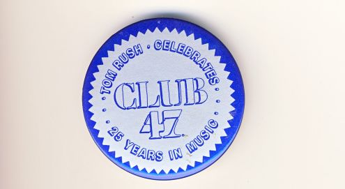 Club 47 reunion button