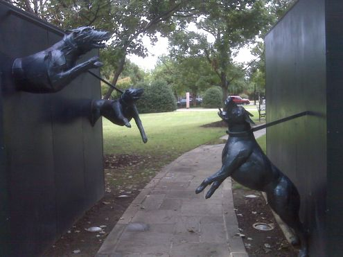 Attack Dogs in Birmingham's Civil Rights Park