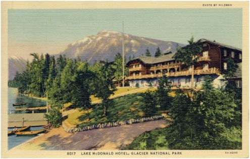 Dick to Crystal: 18 August 1941 (postcard #1)