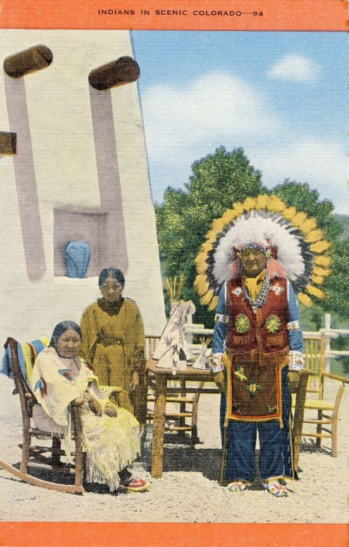 Indians in Scenic Colorado