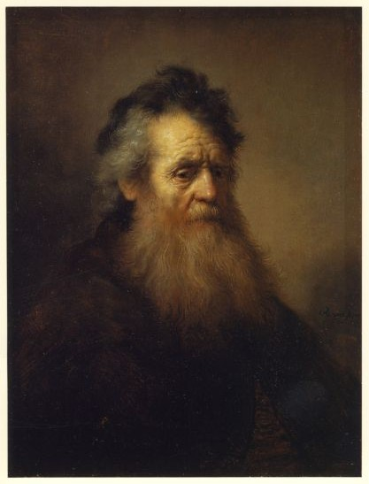 Rembrandt's Bust of an Old Man (1632)