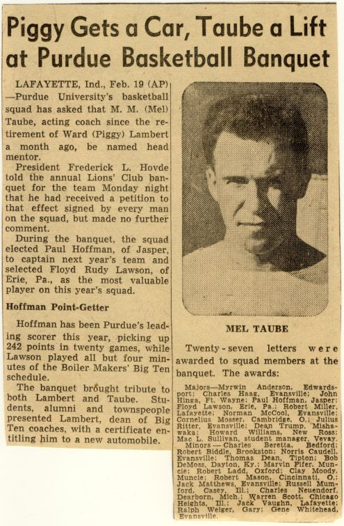 Richard to Alice: 25 February 1946 (news clipping 2)