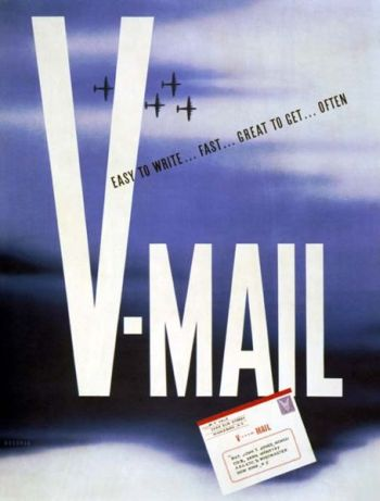 WWII V-Mail Poster