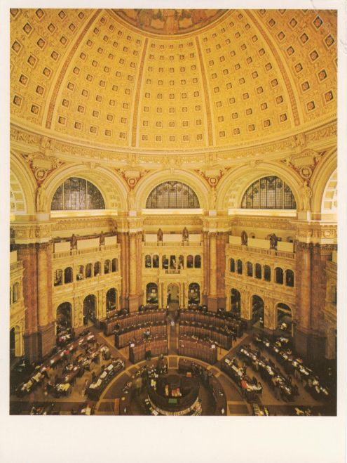 Postcard_Library of Congress_Reading Room 040113_RESIZED